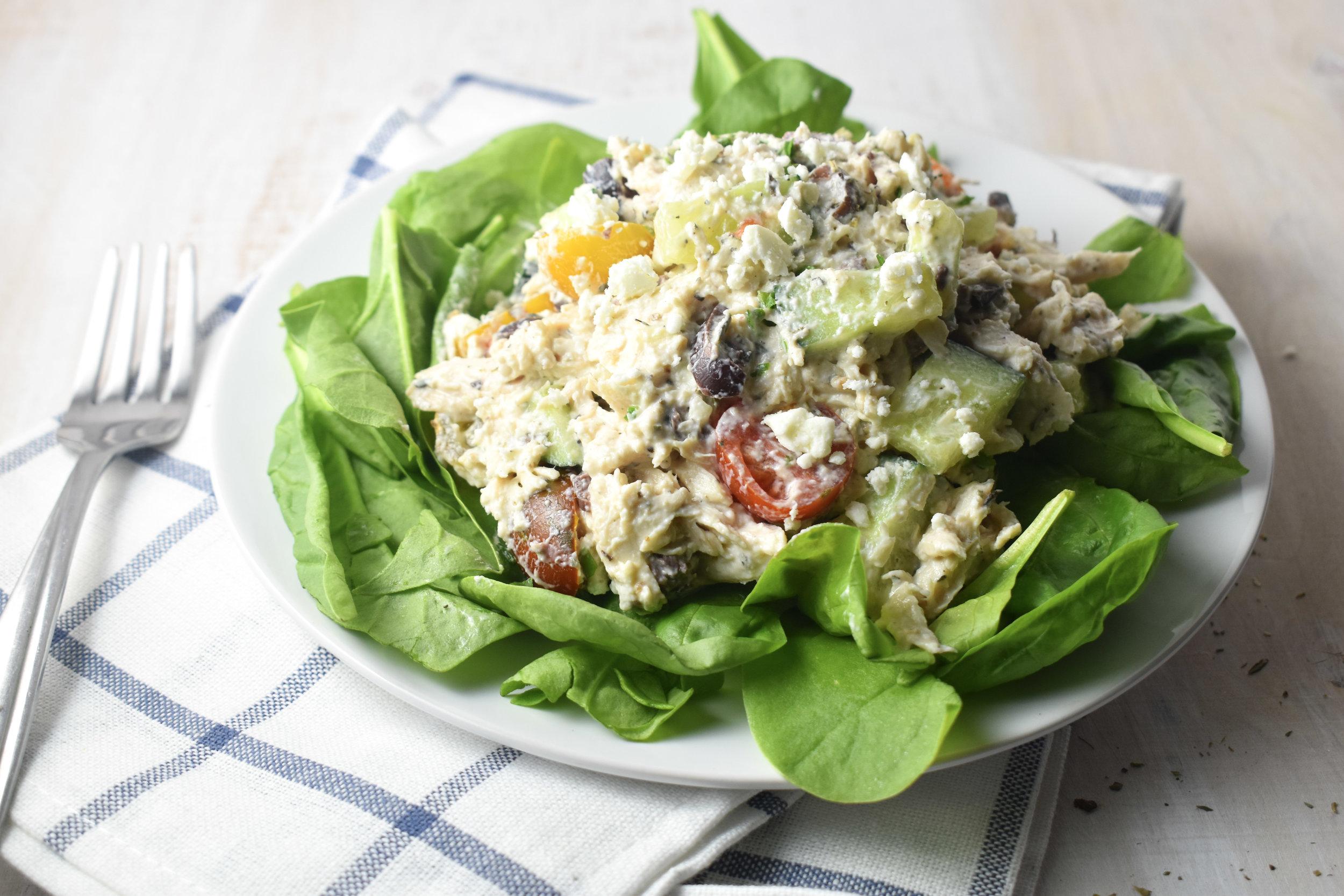 Greek Chicken Salad Carolyn Williams, PhD, RD