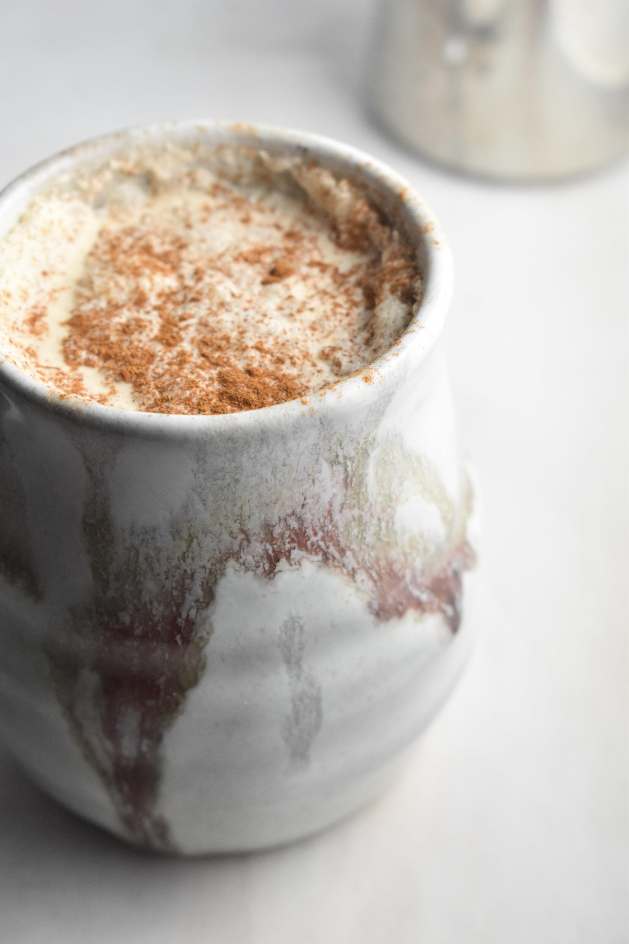 Cinnamon Bulletproof Latte mug