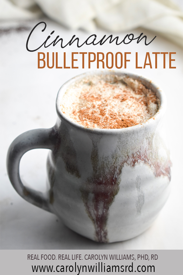 Cinnamon Bulletproof Latte