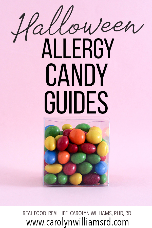 Halloween Allergy Candy Guides