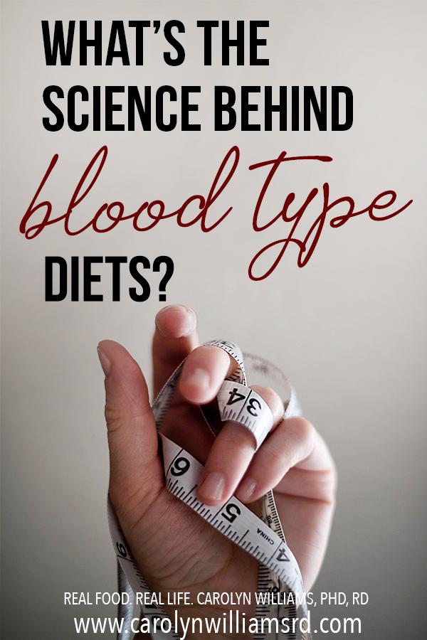 Science Behind Blood Type Diets