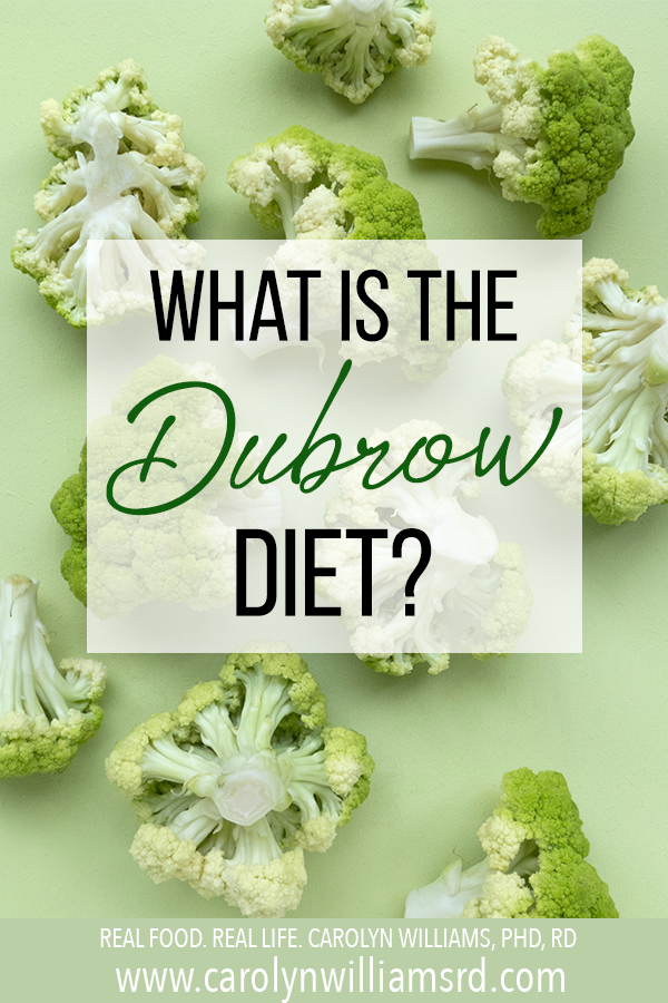 What is the Dubrow Diet?