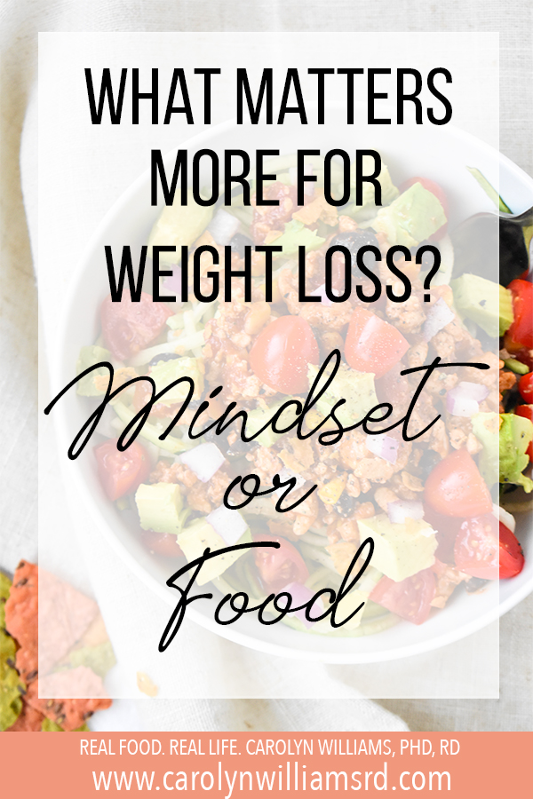 What Matters More for Weight Loss: Mindset or Food?