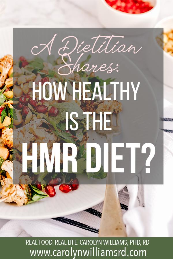 The HMR Diet / CarolynWilliamsRD.com
