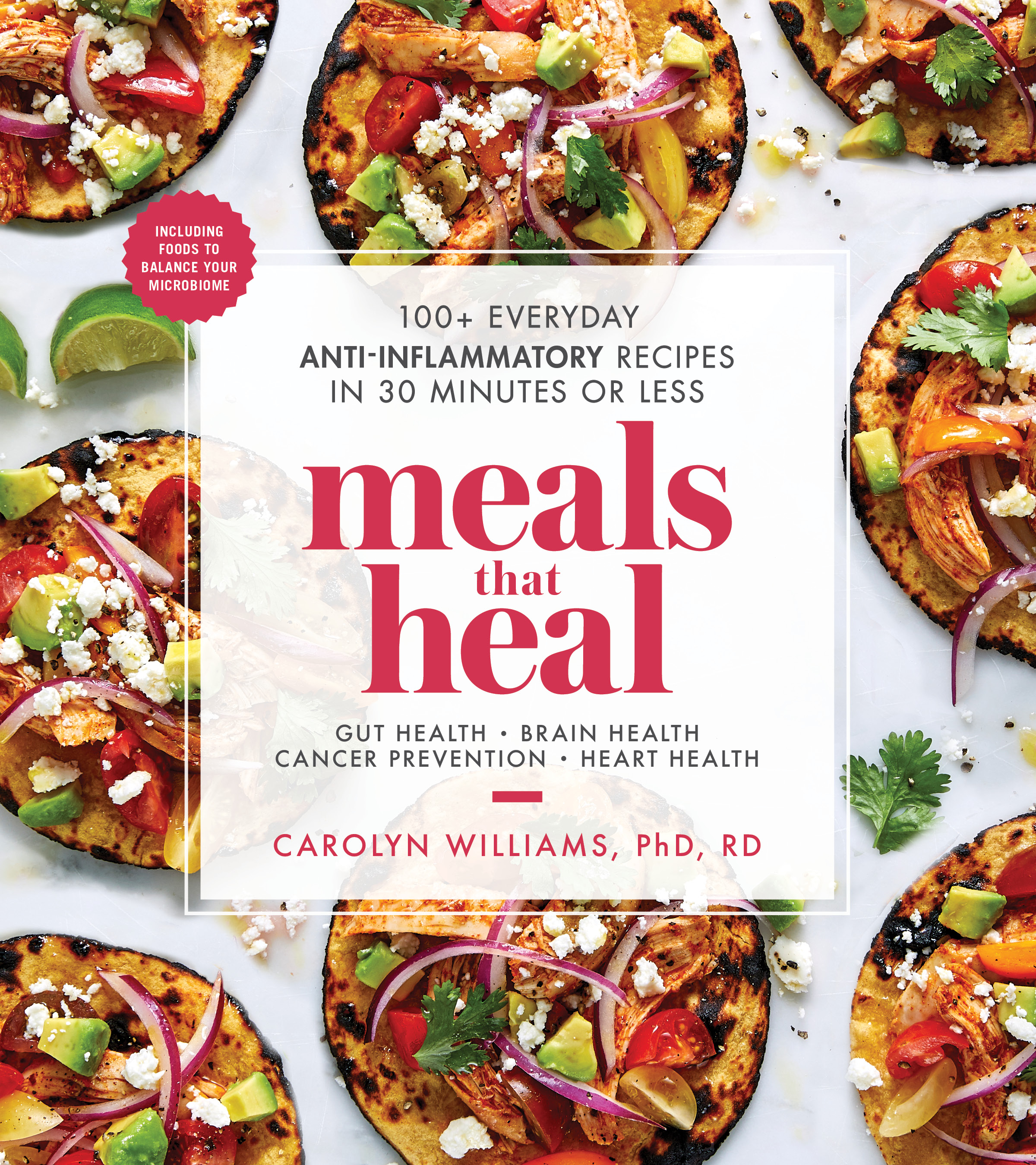 In case you don't know, I have a brand new cookbook ! - You can now find MEALS THAT HEAL: 100+ EVERYDAY ANTI-INFLAMMATORY RECIPES in 30 MINUTES or LESS on the shelf at the store and bring it home for your whole family to enjoy! You'll love this family-friendly cookbook with recipes that you can use to stay healthy or tailor to treat most health conditions. Find out more about the cookbook here and here!