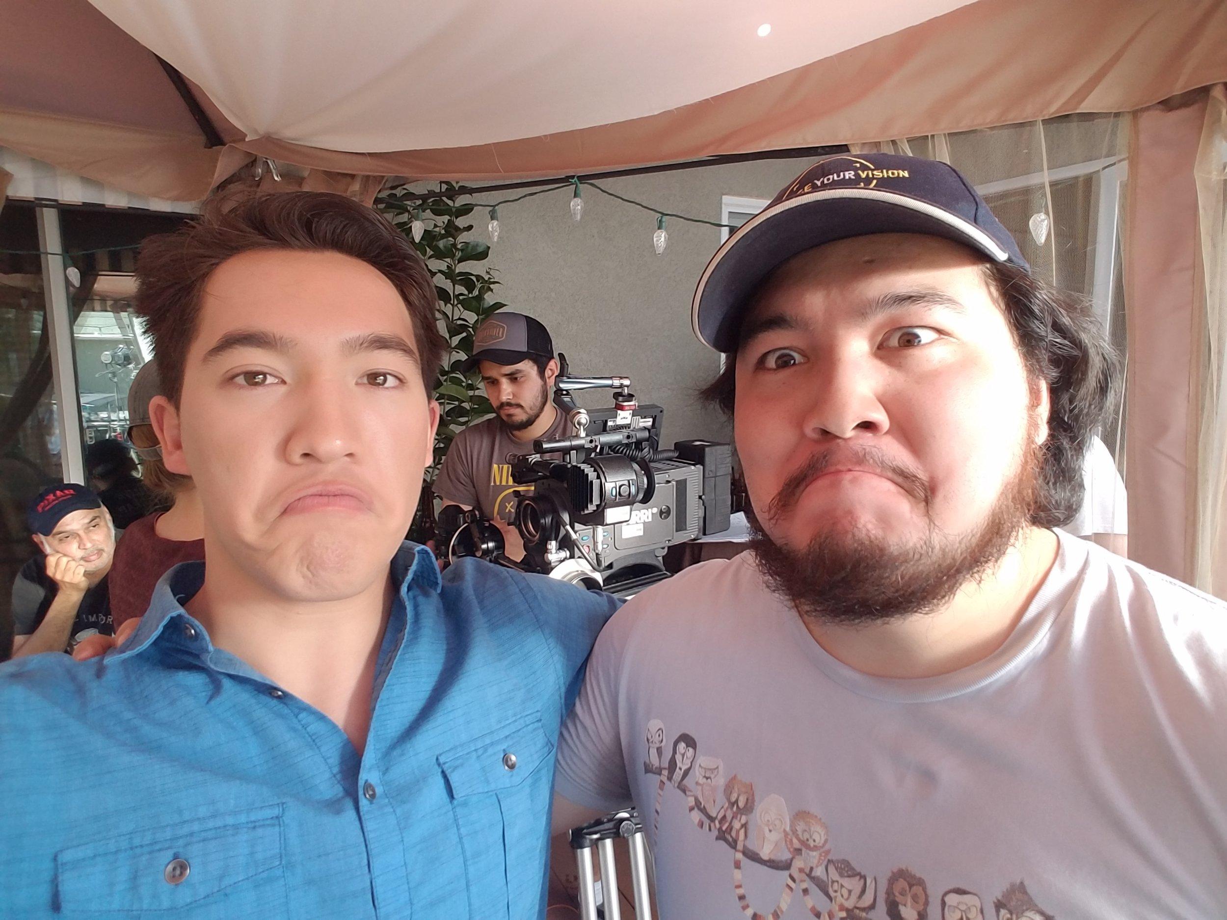 Brothers who make films together, scowl together