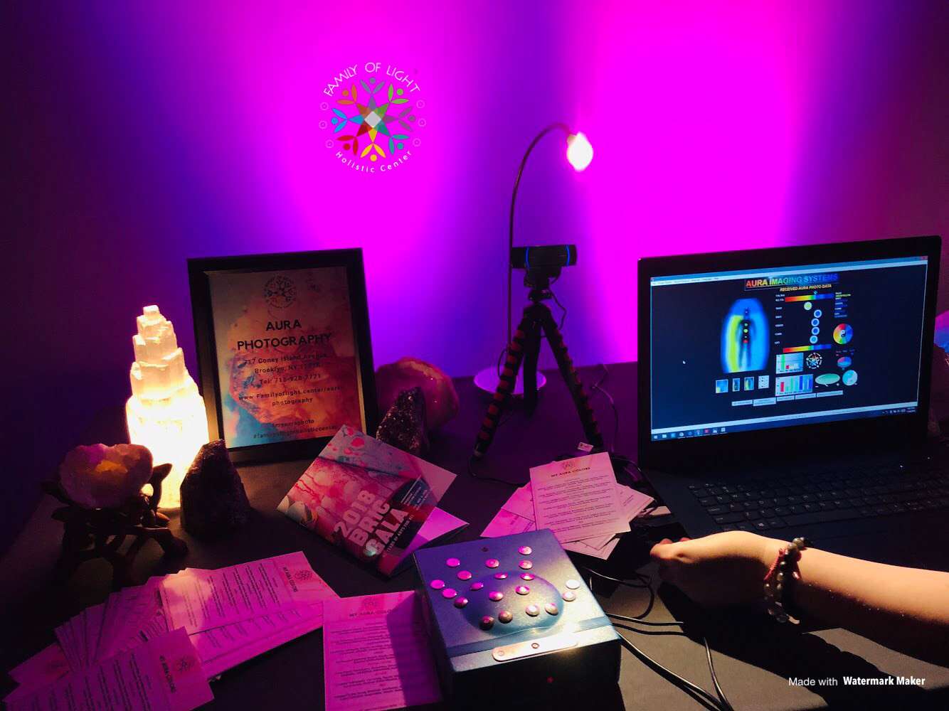 Aura Photography Workspace