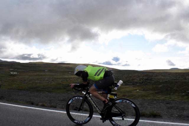 Freezing on the bike on top of Hardangervidda