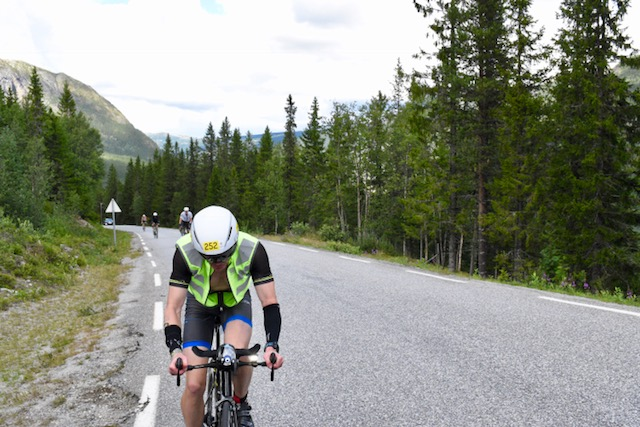 The hills are relentless at Norseman