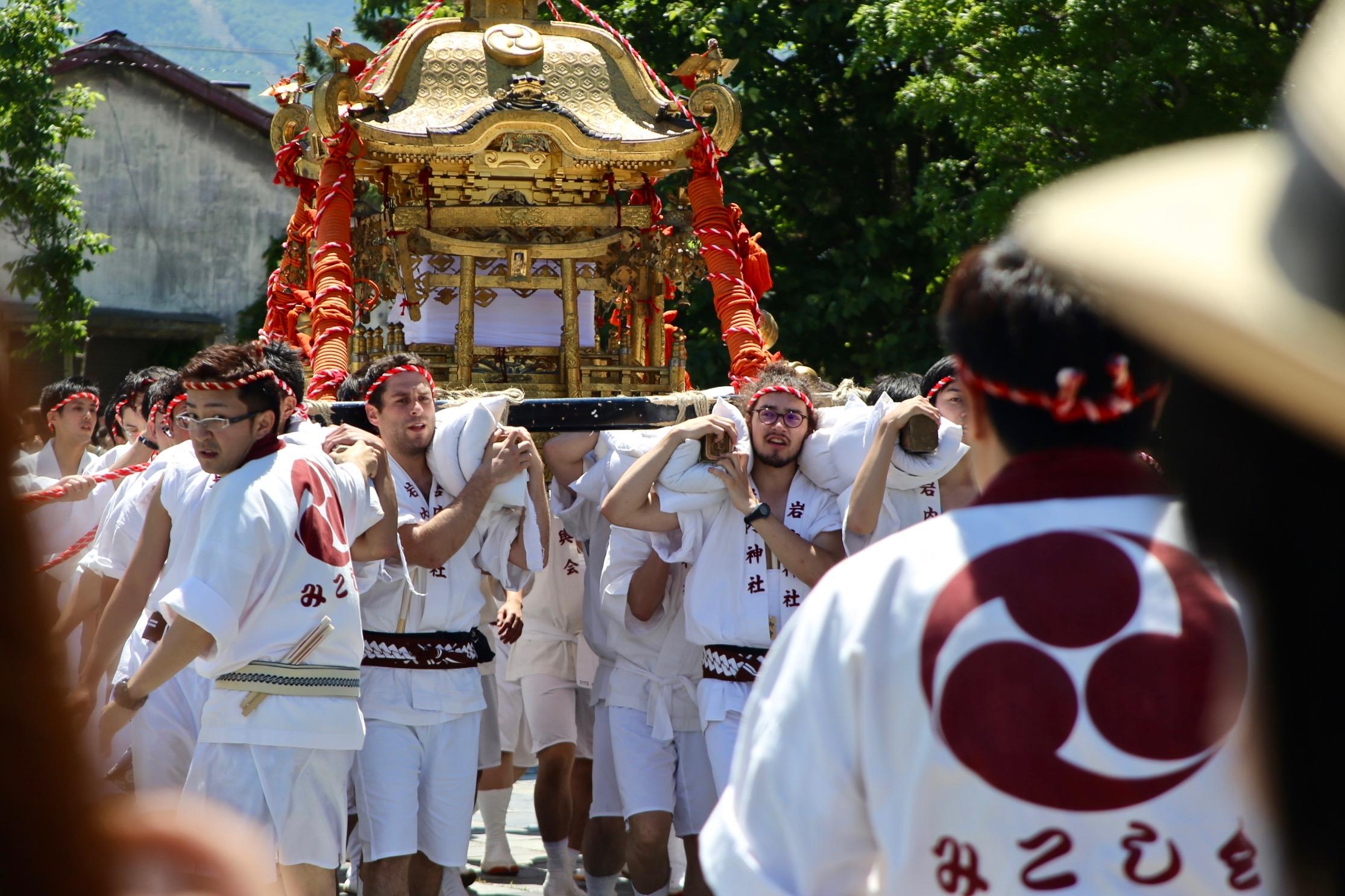 Iwanai Shrine Mikoshi