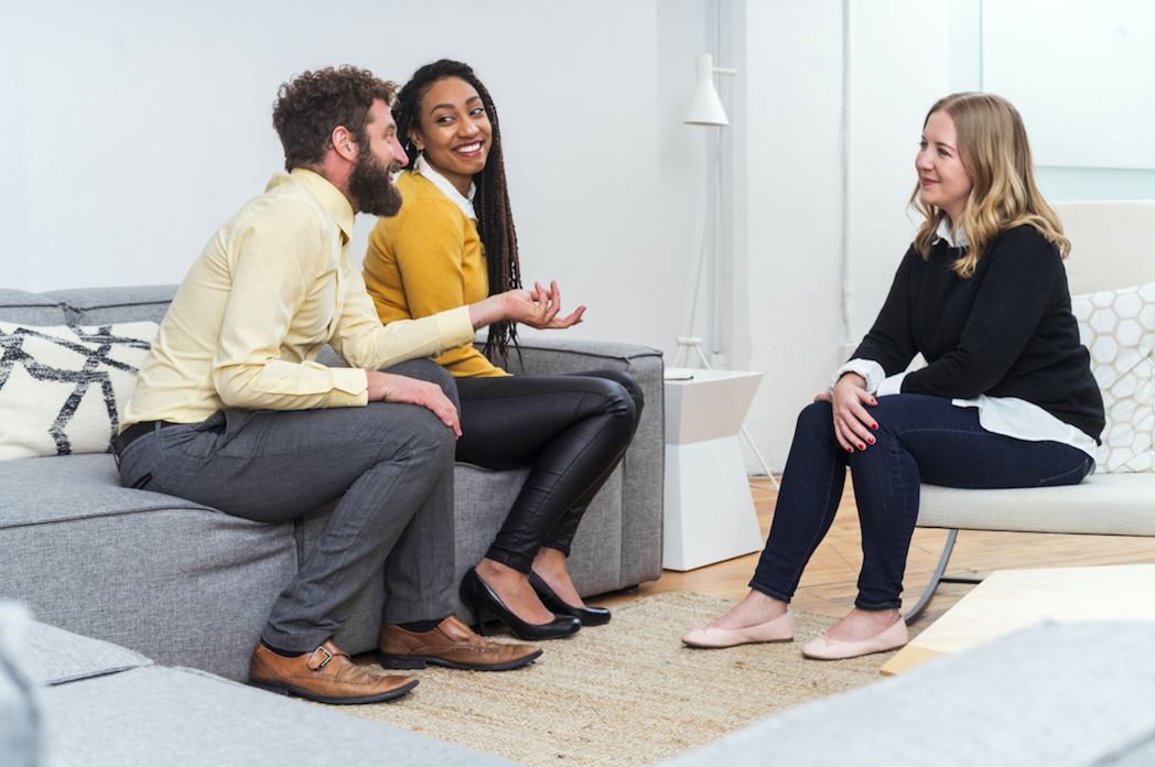 Interviewing users is often a key part of foundational research.