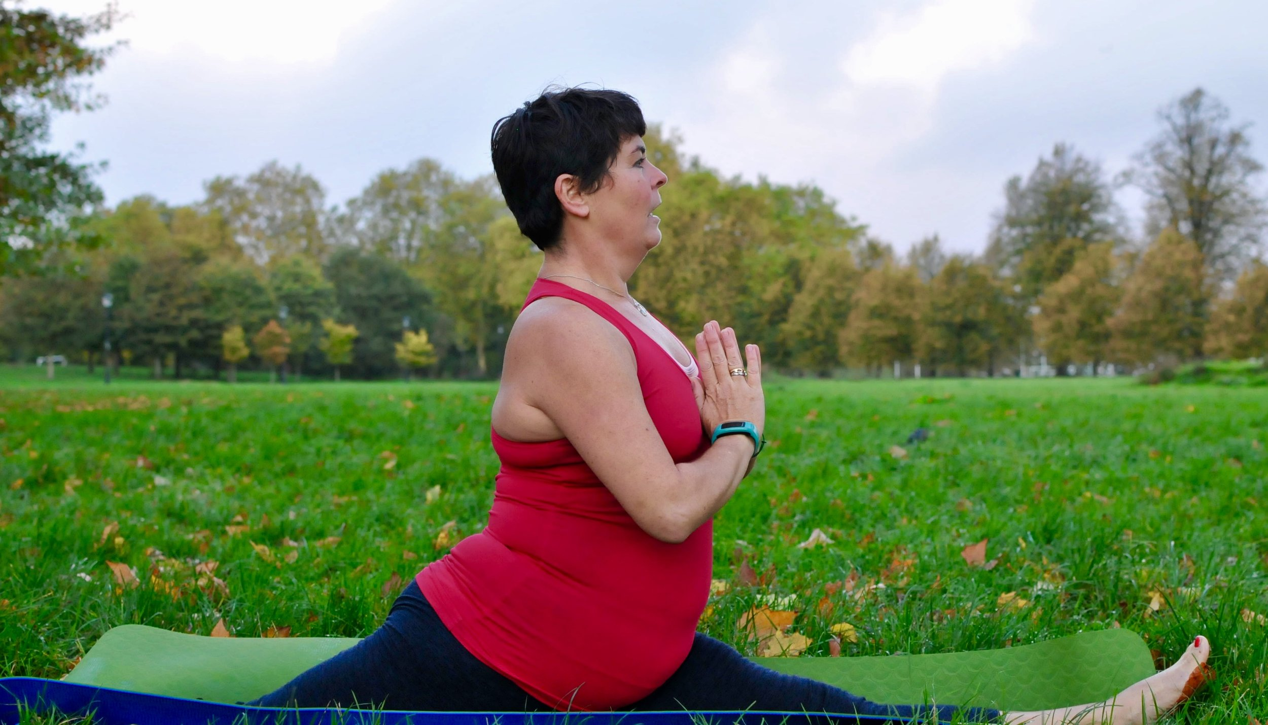 Hanumanasana or splits pose