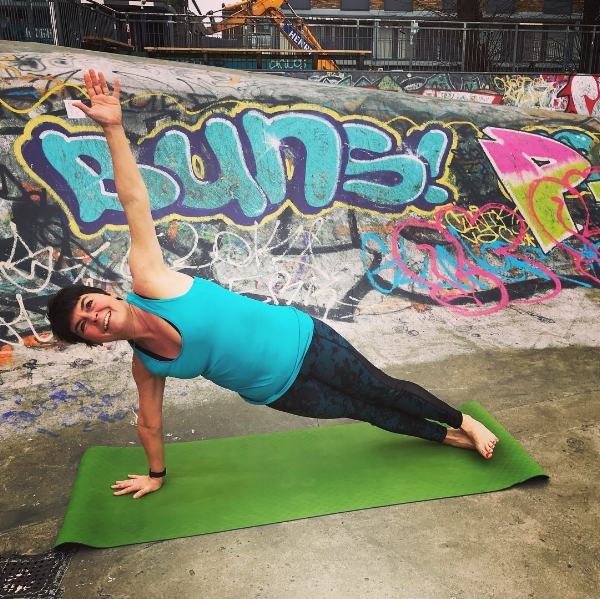 Side Plank - Vasisthasana - great for the core and for building strength