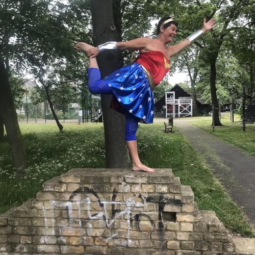Natarajasana - dancer pose