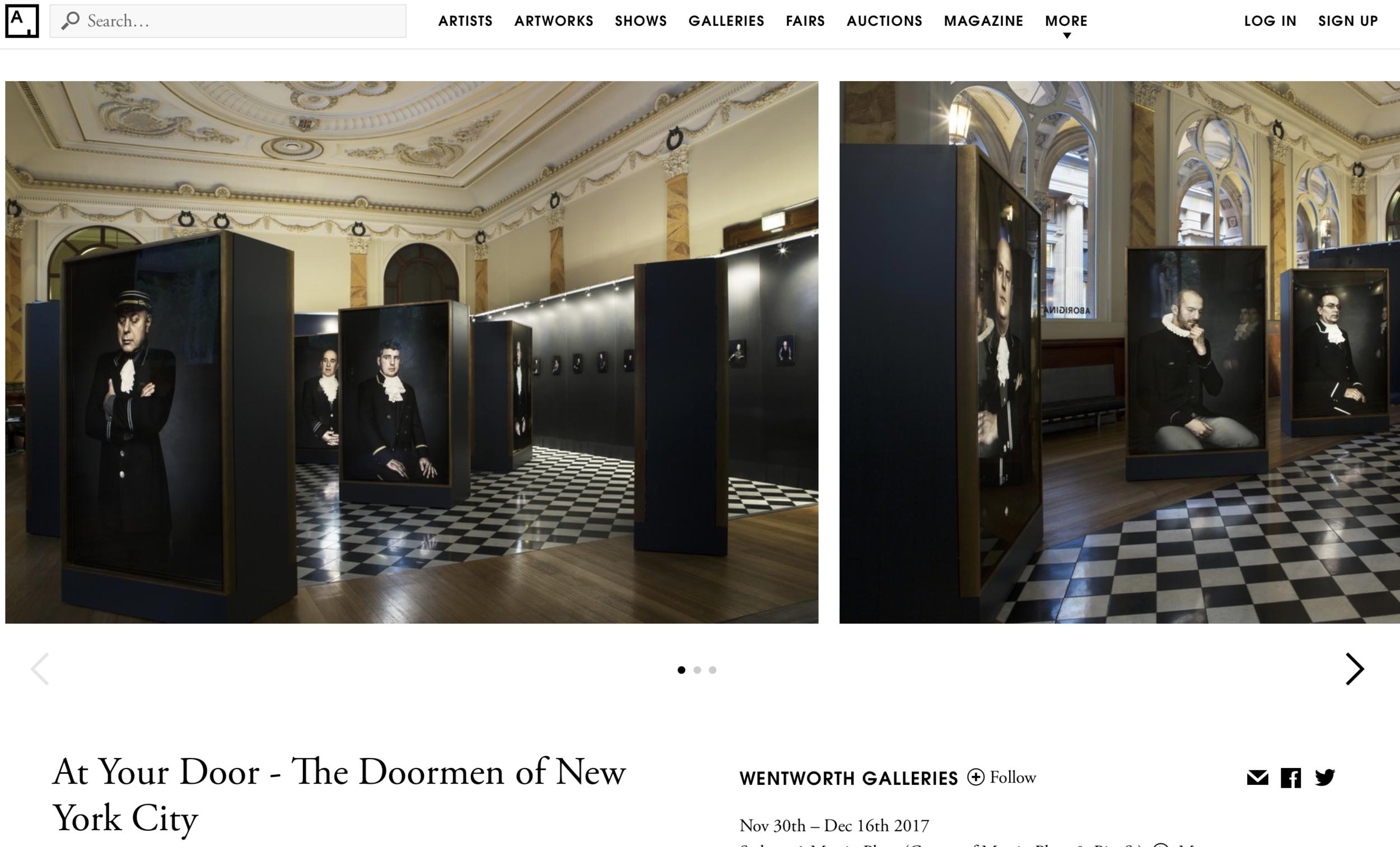 www.artsy.net/show/wentworth-galleries-at-your-door-the-doormen-of-new-york-city -