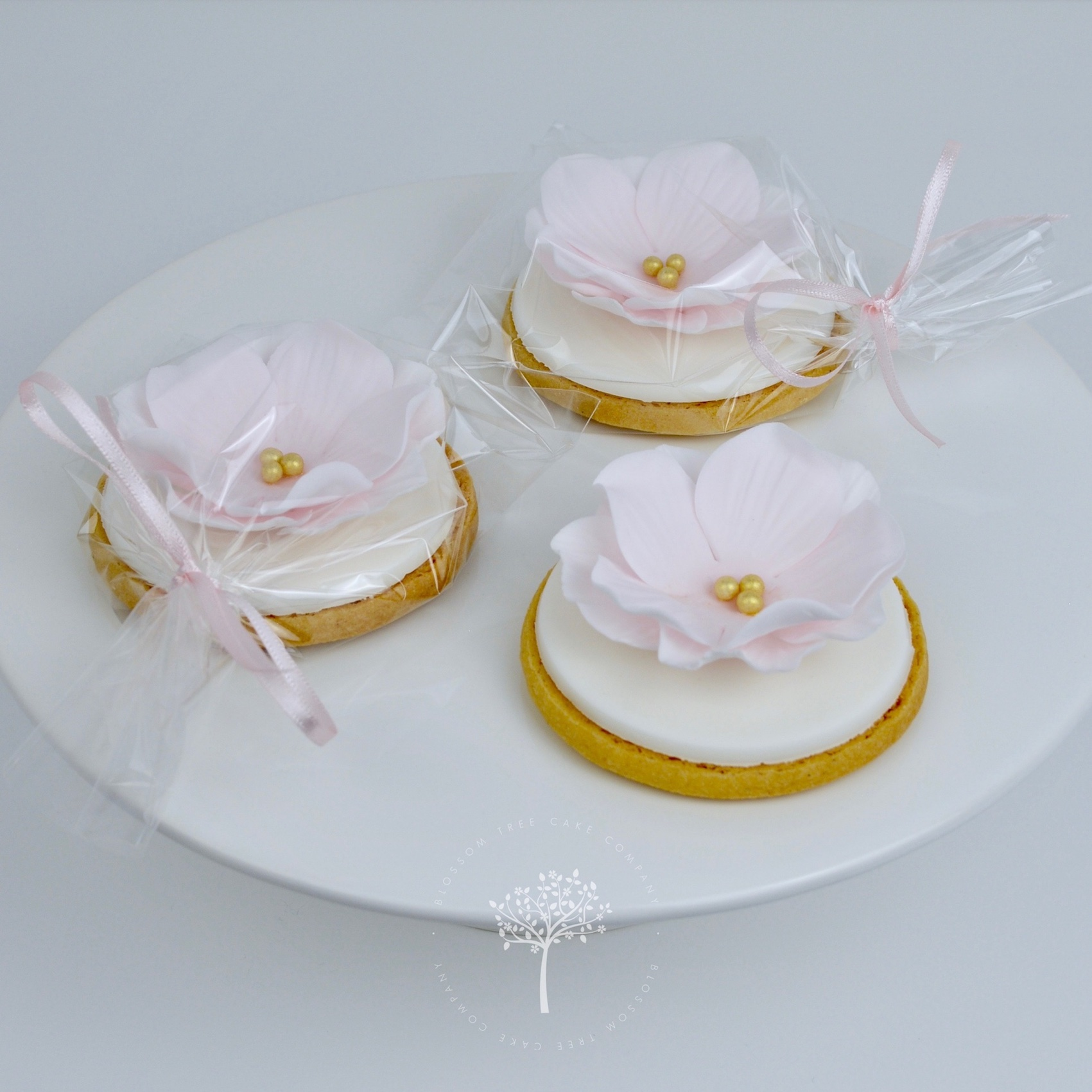 Iced Cookie wedding favours by Blossom Tree Cake Company Harrogate North Yorkshire.jpg