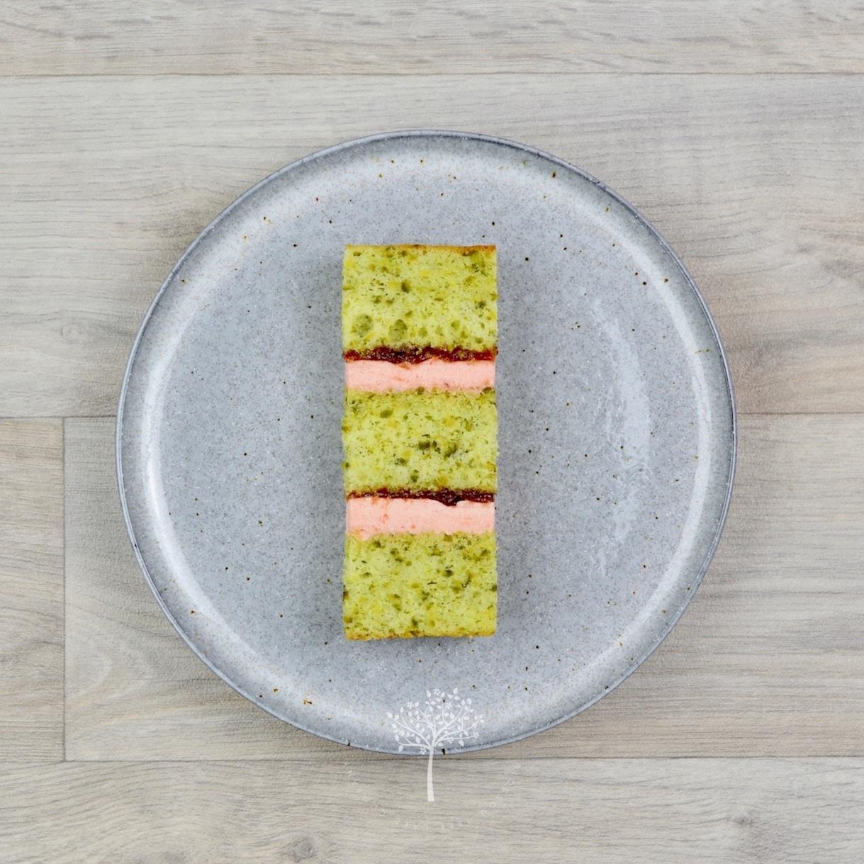 Pistachio & Plum sponge cake by Blossom Tree Cake Company Harrogate North Yorkshire.jpg