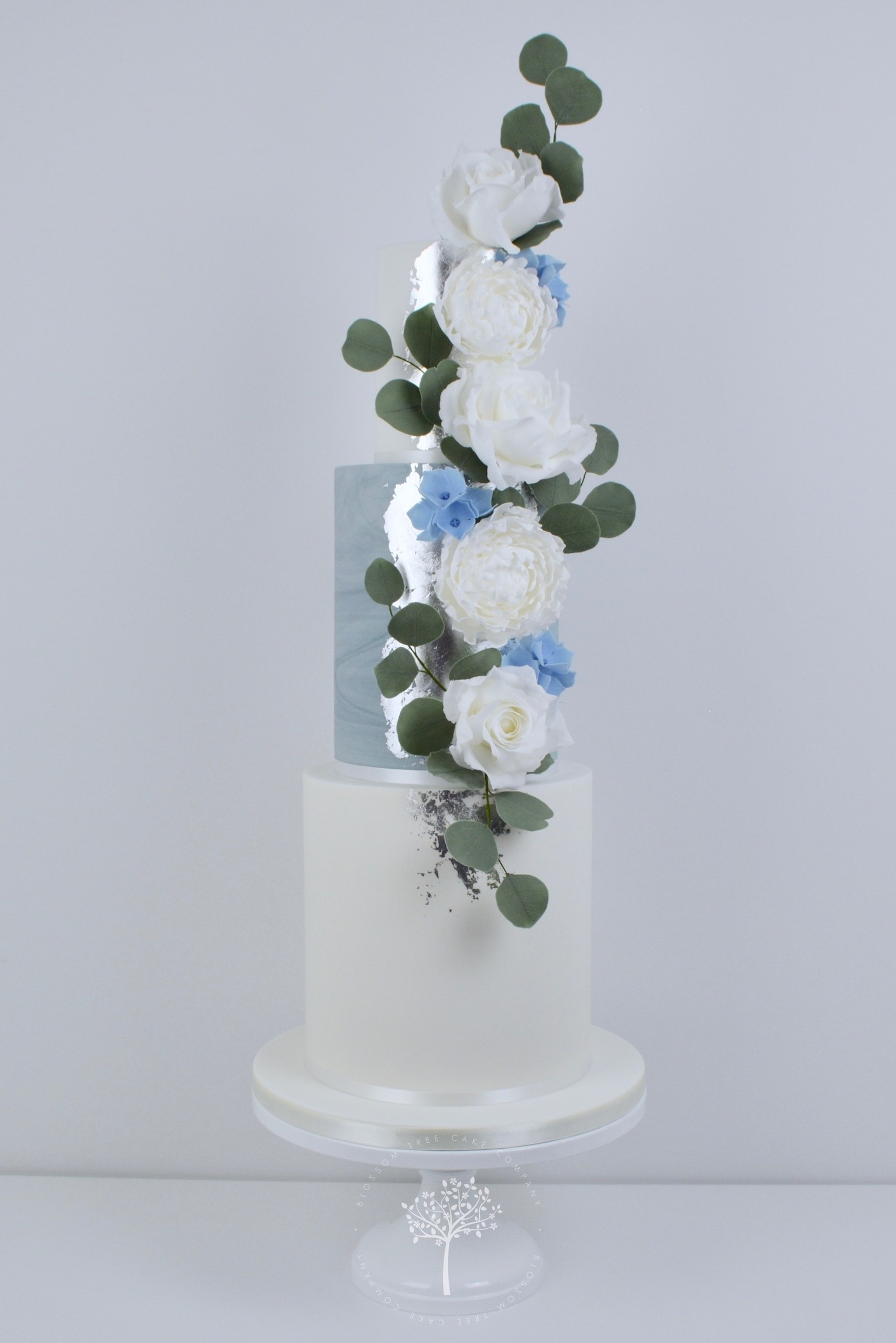 Peonies & Roses wedding cake by Blossom Tree Cake Company Harrogate North Yorkshire.jpg