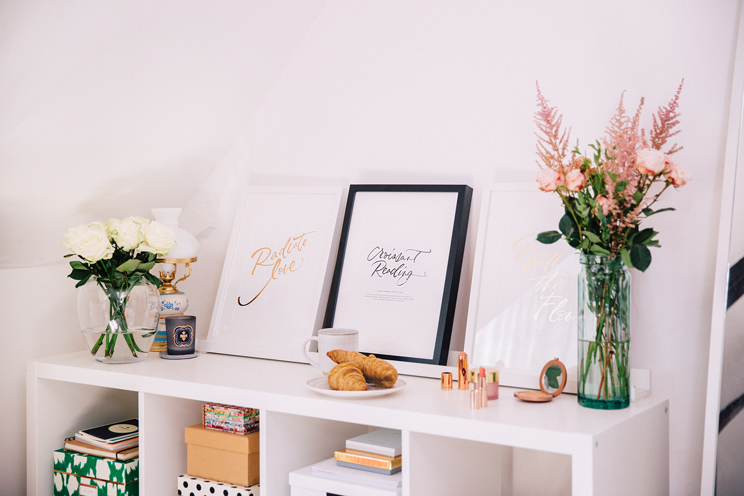 Printed using the finest traditional letterpress technique, the Radiate Love poster series is a collection of inspirational artworks to welcome into your home or work space. -