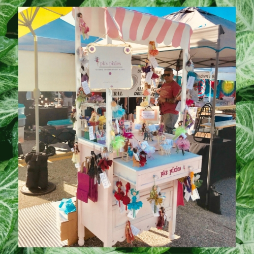 The PIXIE POP-UP is available for markets and events. Inquire on the Contact Me page.
