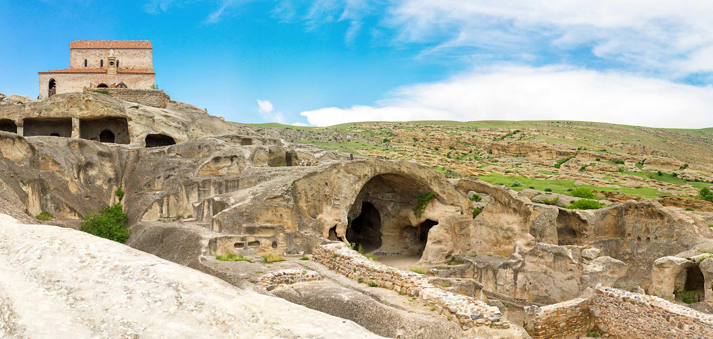 Уплисцихе пещерный город Грузии Стоимость билета Тур по Грузии NAMERANI.jpg