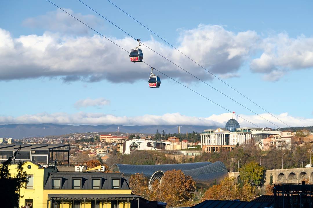 Канатная дорога - Вы увидите весь Тбилиси и сделаете потрясающие снимки!