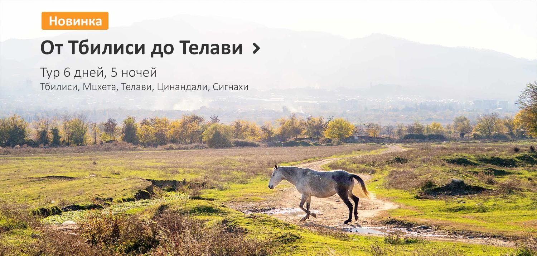 Тур От Тбилиси до Телави NAMERANI