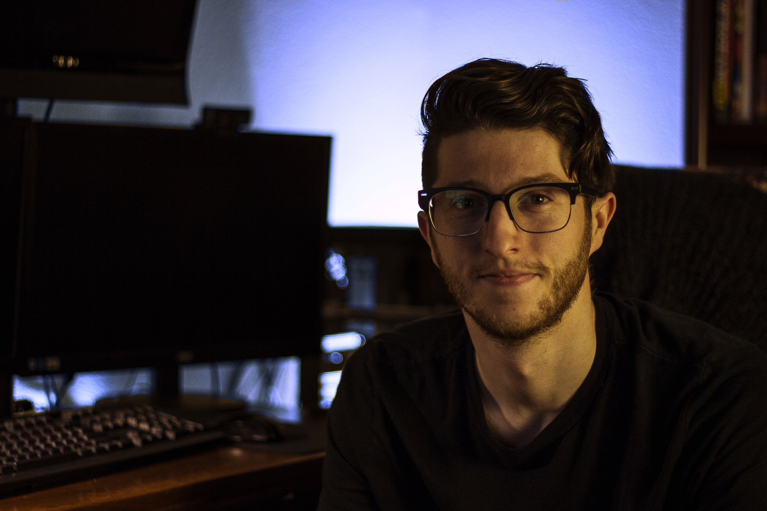 Daniel Waltzer - is a Broadcast Graphic Designer and Video Production Specialist currently working at NASA Johnson Space Center in Houston, TX.A natural problem-solver, capable of integrating into new productions and roles effectively, while consistently establishing utmost efficiency.