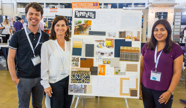 Team 4 representing El Centro College, Texas State University, and the University of North Texas won 1st Place in METROCON's inaugural Design Charrette.