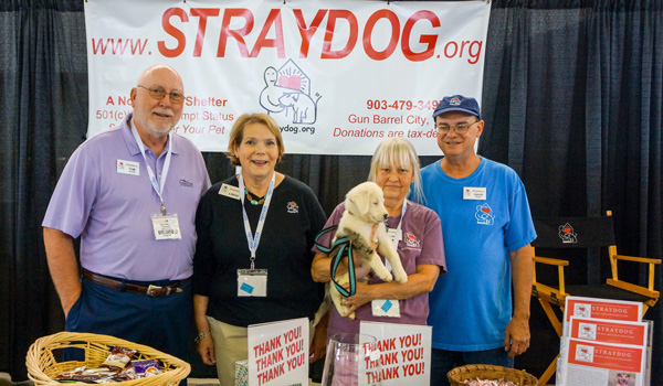 We partnered with Straydog, a no-kill dog shelter and sanctuary. They are looking for donations of services, time, product and/or money to build a new sanctuary for dogs in need.