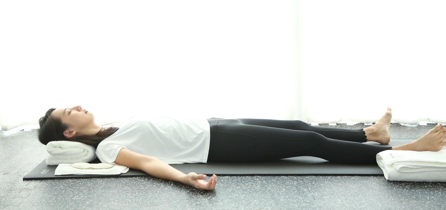 Yoga nidra, restorative rest meditation