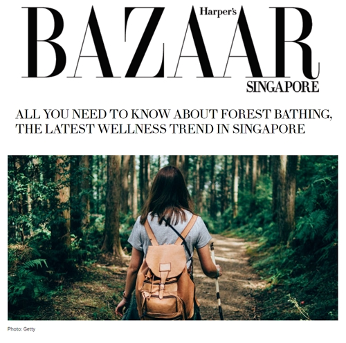 Harper's Bazaar Singapore, May 2019