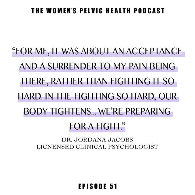 Episode 51. Link in bio. @drjordanajacobs