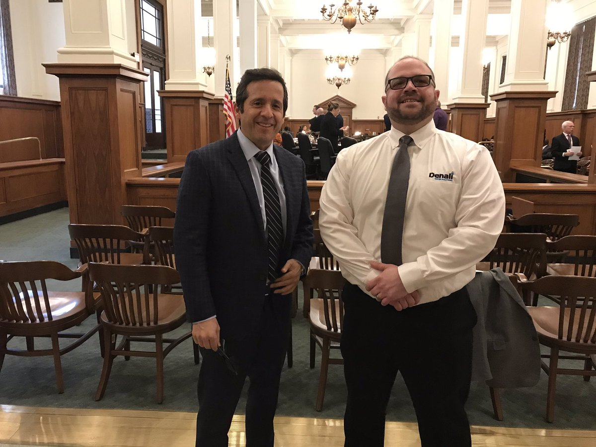President and Trustee, Jairo E. Gonzalez after testifying for NJ bill s1768 and how Compost can Improve stormwater infrastructure. Source: Twitter