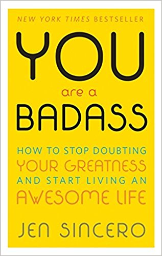 - You are a Badass is an awesome book to start with, I also highly recommend her other book - You are a Badass at Making Money!