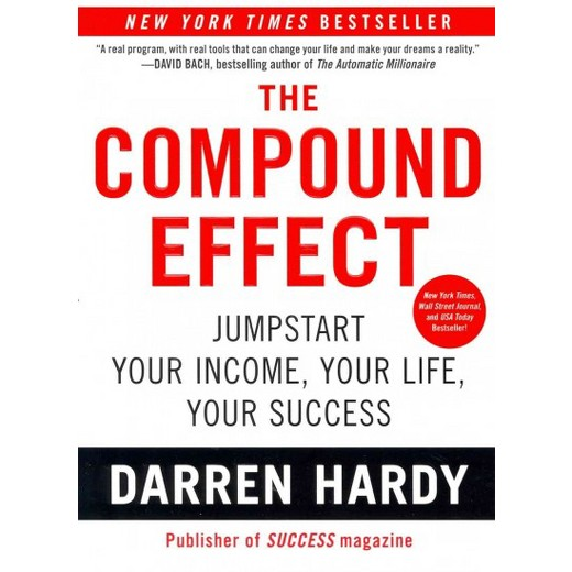 - The Compound Effect was a huge eye opener for me about how one small (seemingly insignificant) change will actually have a massive impact.