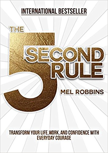 - Can I just say I have a major #girlcrush on Mel Robbins? The Five Second Rule is a game changer and is something so simple that you can implement IMMEDIATELY in your life.