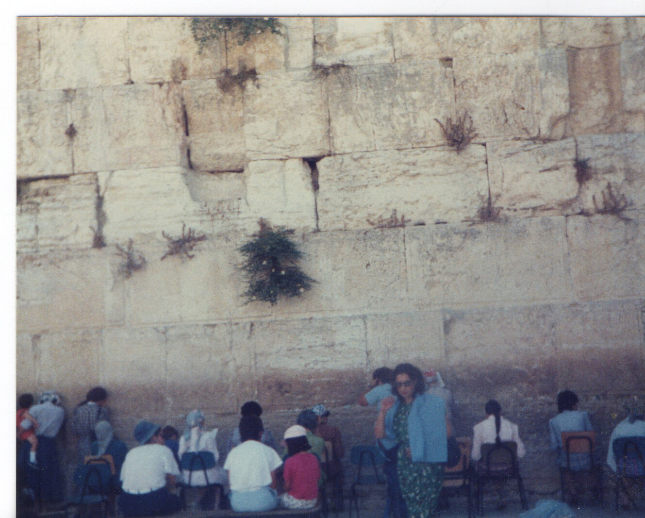 Wailing Wall from my trip in 80's. Had I realised back then that it would be such an inspiration for my work, I would have taken a better picture. A good excuse to return though.