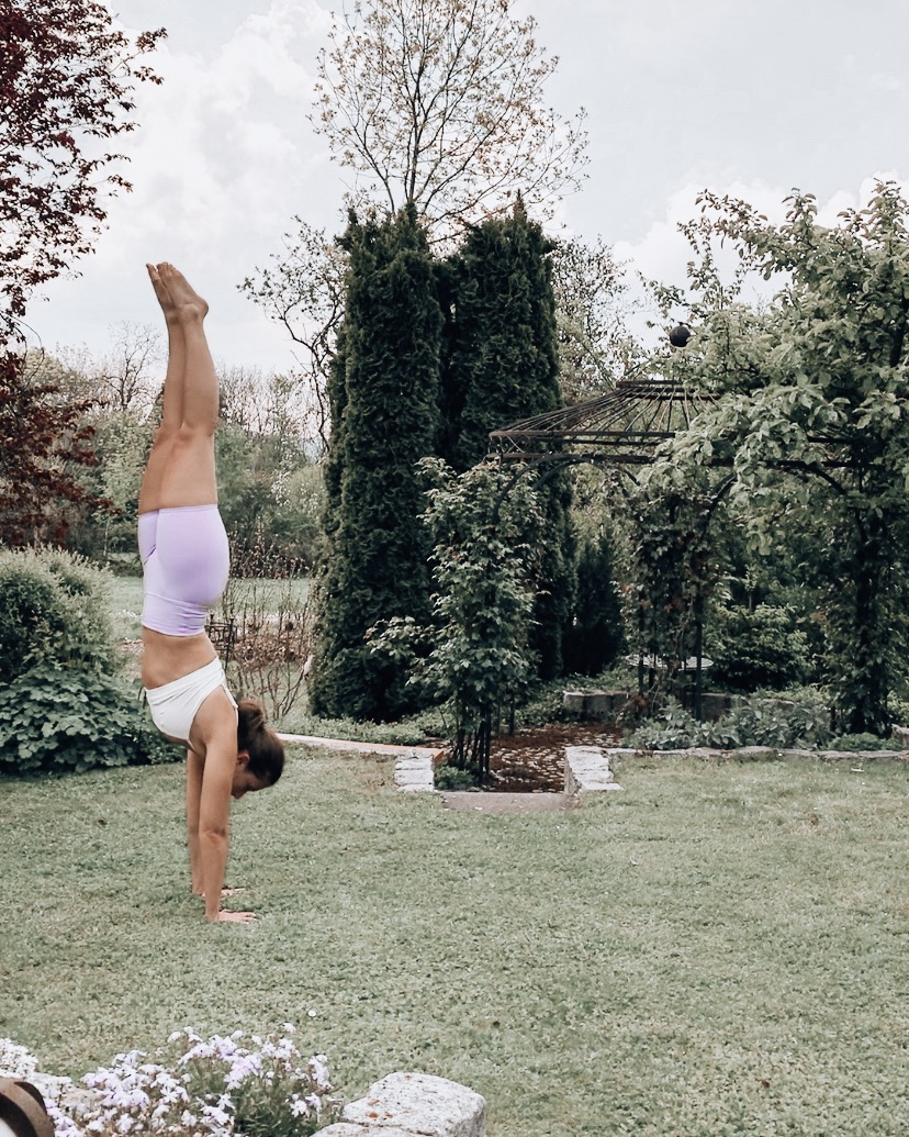 Caroline's Yoga Story - find out all the details on when, where and why Caroline started practicing and teaching yoga