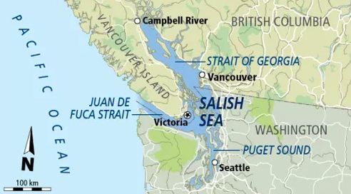 Salish Sea British Columbia