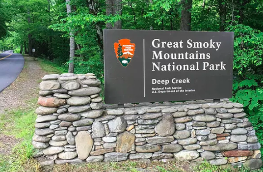 Great smoky mountains Deep Creek