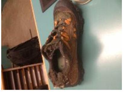 larry conn hiking shoe