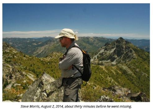 Steve Morris trinity alps death
