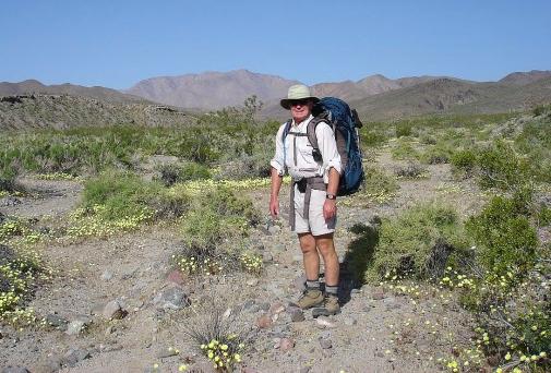 Tom Mahood, Death valley Germans search