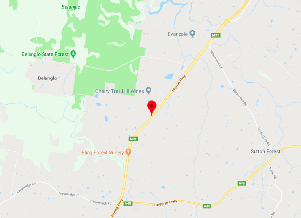 Bellanglo Forest and Humne Highway NSW