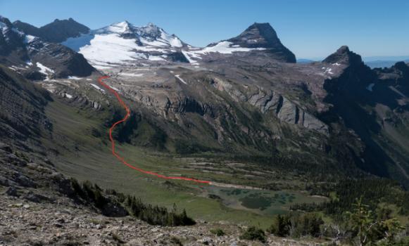Floral park traverse, Glacier national park