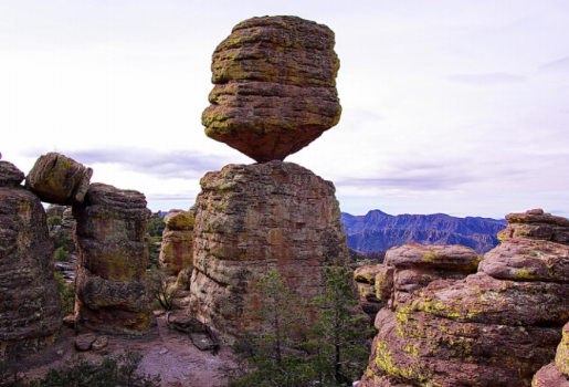 Chiricahua National Monument balanced rock