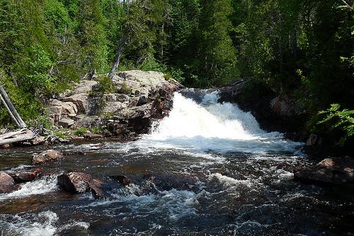 Rainbow falls provincial park Ontario
