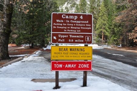 camp 4 yosemite national park