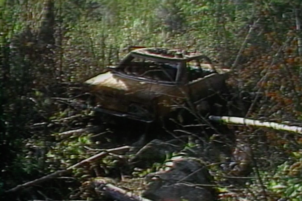 Johnson car Wells Gray murders